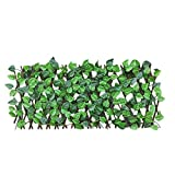 Va-lla De Enrejado Extensible Retráctil, Hoja Artificial De Imitación De Hiedra Privacidad Extensible Pantalla De Enrejado Planta De Jardín Para Uso En Interiores Al Aire Libre Jardín