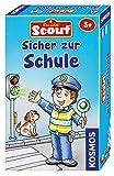 KOSMOS 7105380 Scout: Sicher zur Schule, Verkehrsregeln lernen mit Spaß, Mitbringspiel für Kinder ab 5 Jahren