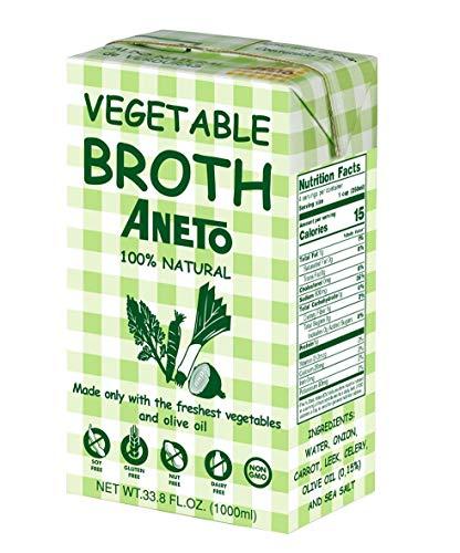 Aneto Caldo Natural de Verduras, 1L