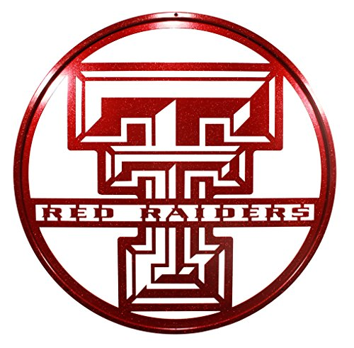 Texas TECH RED Raiders 24' Red Scenic Art Wall Design