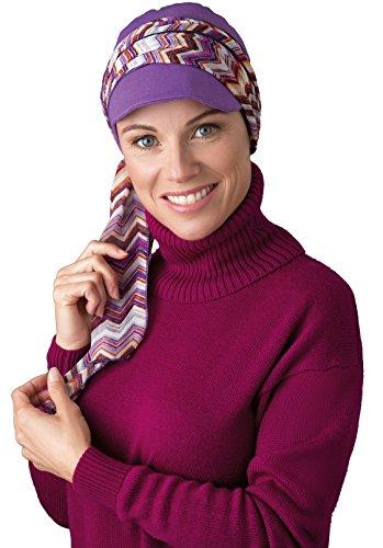 NJ réplica Creation gorra Viola/geométrica púrpura