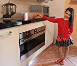 Protezione Fornelli per Bambini in Acciaio Inox 18/10, Protezione Fornelli, Protezione Pia...