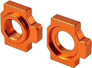 Win By - Axle Blocks Chain Adjuster for KTM 1290 Super Adventure R S T 1050 1090 1190 950 990 Adventure R RC8 RC8R SMR SMT Supermoto