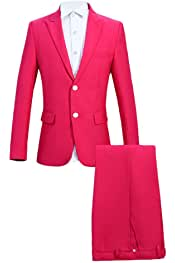 Amazon.es: Rosa - Trajes y blazers / Hombre: Ropa