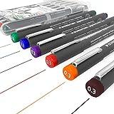 Staedtler 308 Pigment Liner Fineliner – 0,3 mm – Cartera de 6 colores surtidos