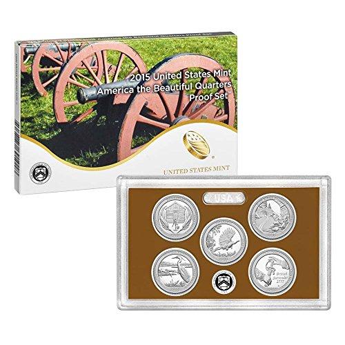 2015 United States Mint America the Beautiful Quarters Proof Set™ (Q5G) OGP