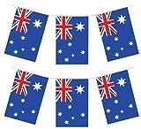 12Ft Australischer Flaggen PVC Fahnentuch Australia Day Party Dekoration Banner - Multi, 1-Pack