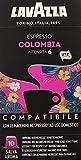 100 CAPSULE LAVAZZA COMPATIBILI NESPRESSO COLOMBIA ARABICA 100%