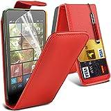 LOLO® Microsoft Lumia 535 Case Premium Leather Flip Cover