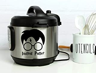 Instant Pot Vinyl Decal • Instant Potter • 3 Sizes Available • Lots of Colors to Choose From • Instapot • Pressure Cooker Decal • BlueMoonFlowerDesign
