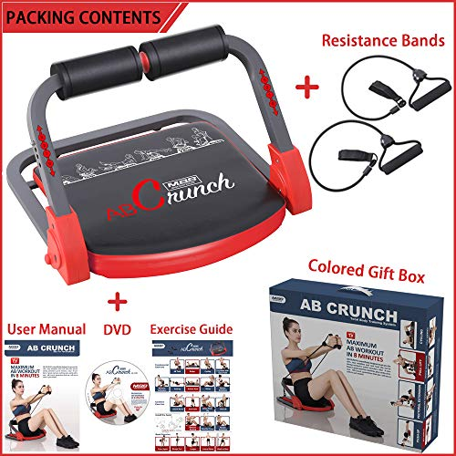 Product Image 9: eHUPOO Ab Machine Abs Workout Equipment, Abs and Whole Body Exercise Equipment for Home Workouts,Core Strength Training&Abdominal Exercise Trainers With Resistance Bands for Home Gym.USA Patented
