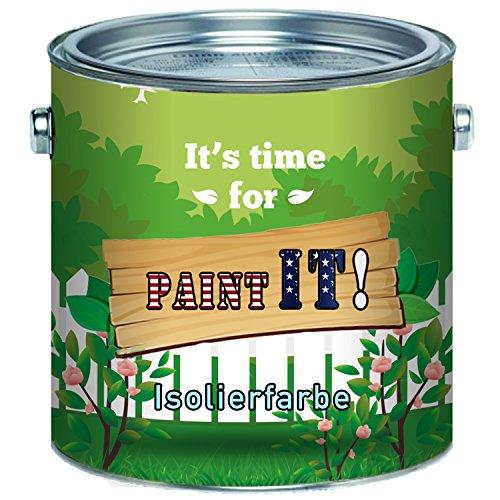 Paint IT! Isolerende verf wit nicotine barrière premium muurverf 2,5 L 5 L 10 L 1 L wit