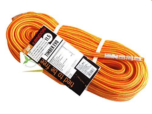 テンドン ツリー用クライミングロープ EVO 11.5mm 50m オレンジ【伐採・木登り・プロ仕様・ヨーロッパ製】
