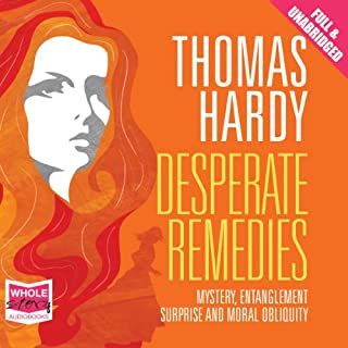Desperate Remedies                   By:                                                                                                                                 Thomas Hardy                               Narrated by:                                                                                                                                 Melody Grove                      Length: 15 hrs and 39 mins     12 ratings     Overall 4.4