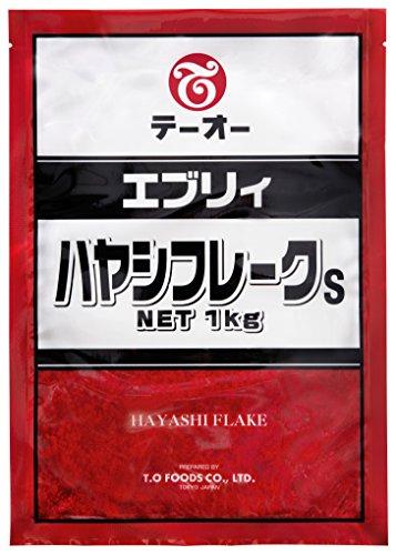 テーオー食品 エブリィ ハヤシフレークS 1kg [3241]