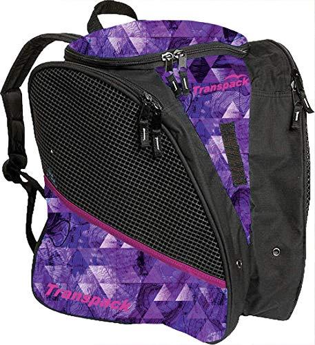Transpack ICE Skate Backpack - Purple Topo