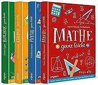 Mathe, Physik, Chemie und Biologie ganz leicht im Paket: 4 Buecher in einem