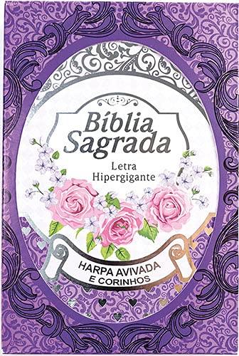 Biblia Sagrada - Letra Hipergigante (Lilás)