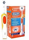 Oral-B Vitality Cross Action - Cepillo eléctrico recargable, naranja