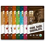 KUL CHOCOLATE Bars | Variety 8 Pack | Milk & Dark Chocolate | Organic, Soy-Free, Vegan, Gluten-Free, Non-Gmo, Direct Trade Dark Chocolate | 2.8oz Each