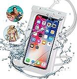 強化版 携帯防水ケース スマホ防水ケース タッチ可【指紋・顔認証】IPX8防水防塵 水中撮影・通……