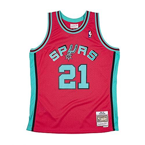 Mitchell & Ness NBA Reload Swingman Jersey - SA Spurs T. Duncan, PINK