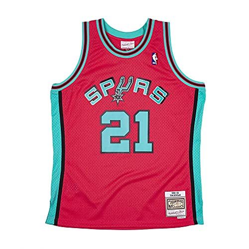 Mitchell & Ness NBA Reload Swingman Jersey Sa Spurs T. Duncan Pink S