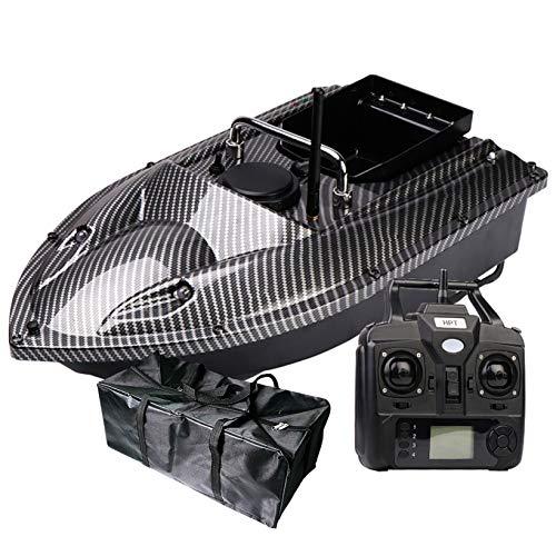 FUMENG Intelligent Fishing Bait Boat,500M High Speed Radio Fishing Lure Bait Nesting Boat 1.5KG Loading Fish Finder,12000mAh,Carbon fiber