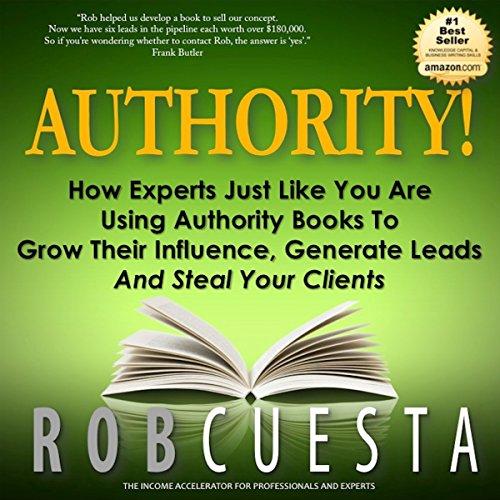 Authority! audiobook cover art