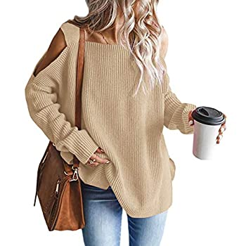 Best cold shoulder tunic sweater Reviews