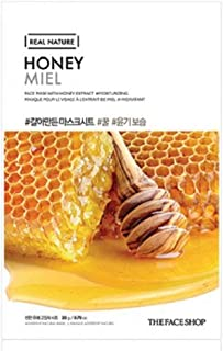 THE FACE SHOP Real Nature mask sheet - Honey