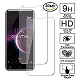 [2 Pack] Guran® Protector de Pantalla Vidrio Cristal Templado Para CUBOT Magic Smartphone Cristal Vidrio Templado Film