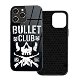 Bullet Club for Iphone12 Tpumobile Phone Case Anti-Fall Protective Cover
