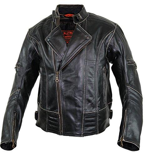 Motorrad Lederjacke (L) - 4
