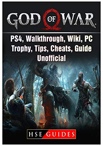 God of War Game, PS4, Walkthrough, Wiki, PC, Trophy, Tips, Cheats, Guide Unofficial