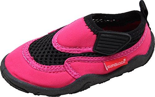 Zunblock Aqua Scarpe Bambino, Bambina, Fille, Pinky, FR : 24 Mois (Taille Fabricant : 22/23 (14,0 cm))