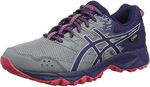 Asics Gel-Sonoma 3 G-TX, Zapatillas de Running para Asfalto Mujer, Gris (Stone Grey/Pixel Pink 020), 37 EU