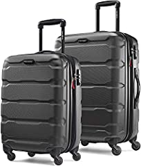 "2 PIECE SET contains: 20"" Carry On (meets carry-on size restrictions for those traveling domestically and looking to stay light) and 24"" Spinner (maximize your packing power and the ideal checked bag for longer trips) 10 YEAR LIMITED WARRANTY: Samson..."