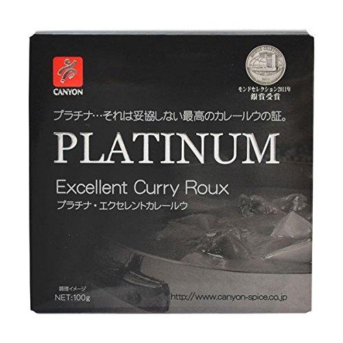 【2個セット】プラチナ エクセレントカレールウ 100g