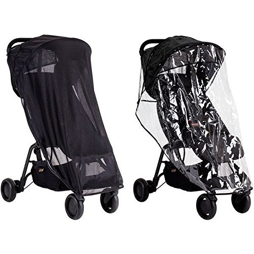 Habillage pluie + Protection Soleil Nano Mountain Buggy