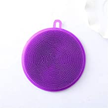Multifunction Silicone Sponge Bowl Cleaning Brush Silicone Scouring Pad Silicone Dish Sponge Kitchen Pot Cleaner Washing T...