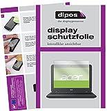 dipos I 2X Schutzfolie klar kompatibel mit Acer Chromebook 11 N7 Folie Bildschirmschutzfolie