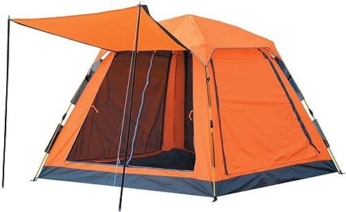 LYN Tente de Camping, Tente de randonnée Professionnelle 3-4 Personnes Double Couche imperméable pour la Chasse en Camping en Plein air