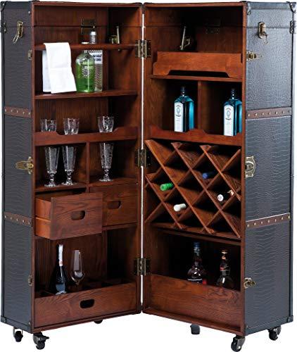 Kare Design Bar-Coffre Haut Colonial Croco