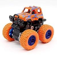 慣性プルバックスタントカー子供トラックおもちゃのためのオフロード車の四輪駆動車赤ちゃん教育子供のおもちゃ室内遊び 知育玩具 男の子 誕生日 プレゼント 贈り物 クリスマス 入園祝い