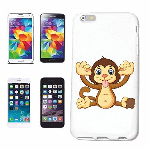 Reifen-Markt Handyhülle kompatibel für iPhone 7+ Plus AFFE Macht GRIMASSEN Monkey Schimpanse AFFE Gorilla SILBERRÜCKEN MENSCHENAFFE Charly AFFEN King Kong Hardcase