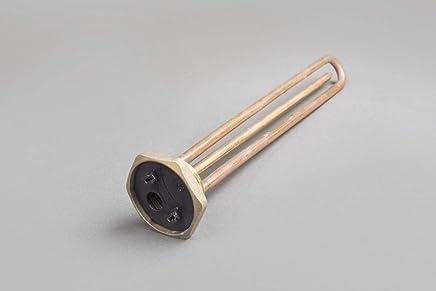 Elektroheizstab Heizstab Heizelement f/ür Wamwasserboiler Warmwasserspeicher mit Thermostat 1500W L-360mm 5//4