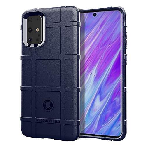 LENASH For Galaxy S11e Cobertura Completa a Prueba de Golpes Caso de TPU (Negro) La Caja del teléfono Funda para Phone (Color : Blue)