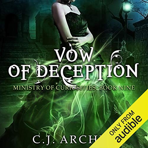 Vow of Deception audiobook cover art