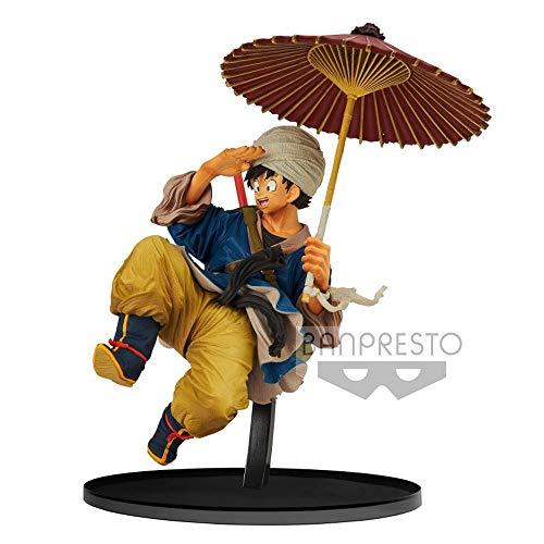 Banpresto - Figura de Acción Dragon Ball Z World Figure Colisseum Goku Sombrilla (Bandai...